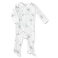 aden + anais Long Sleeve Kimono One-Piece - Silver Star-1
