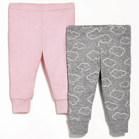 Skip Hop 2 Piece Baby Pants Set - Pink-1