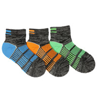 STRIDE RITE Bryce Made to Play Quarter Socks - 3 Pack-1