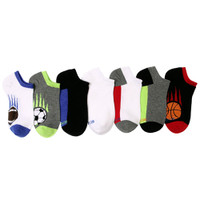 STRIDE RITE Davis Sports Blocks No Show Socks - 7 Pack-1