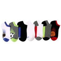 STRIDE RITE Davis Sports Blocks No Show Socks - 7 Pack-1