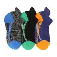 STRIDE RITE Max Made 2 Play No Show Socks - 3 Pack-1