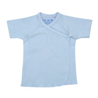 Under The Nile Short Sleeve T-Shirt - Ice Blue - 3-6 Months-1