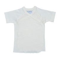 Under The Nile Short Sleeve T-Shirt - Off White - 3-6 Months-1