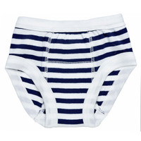 Under The Nile Training Pants - Navy/White Stripe-1