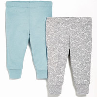 Skip Hop 2 Piece Baby Pants Set - Blue-1