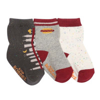 Robeez City Life Baby Socks - 3 Pack