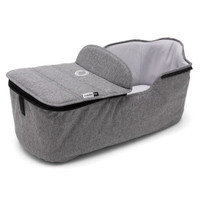 Bugaboo Fox Bassinet Tailored Fabric Set - Grey Melange