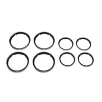Bugaboo Fox Wheel Caps - Black