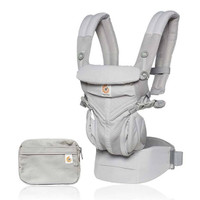 Ergo Baby Omni 360 Cool Air Mesh Baby Carrier - Pearl Grey