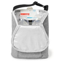 Skip Hop Grab & Go Double Bottle Bag - Grey Melange-2