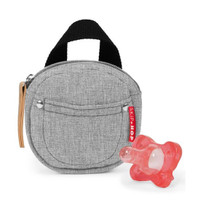 Skip Hop Pacifier Pocket - Grey Melange-2