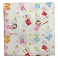 Bradcal Baby Handkerchief - ABC with Pink Trim