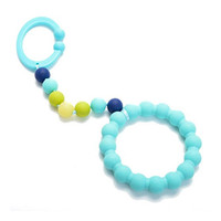 Chewbeads Gramercy Stroller Toy - Turquoise-1
