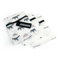 Innobaby Dono&Dono Mini Muslin Squares 10 Pack - Little Zoro-1