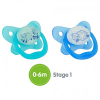 Dr. Brown Stage 1 Glow in the Dark Pacifier - Assorted Colors