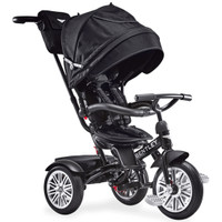 Bentley Trike 6-in-1 Baby Stroller/Kids Tricycle - Onyx Black Product Photo
