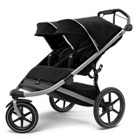 Thule Urban Glide 2 Jogging Double Stroller  - Black