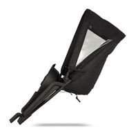 Micralite TwoFold Tandem Second Seat - Black