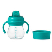 OXO Tot Transitions Soft Spout Training Cup Set 6 oz - Teal_thumb1