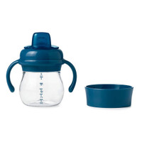 OXO Tot Transitions Soft Spout Training Cup Set 6 oz - Navy_thumb1