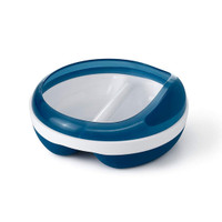 OXO Divided Feeding Dish - Navy_thumb1