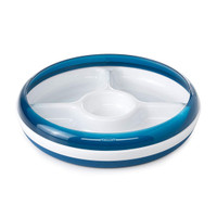 OXO Divided Plate - Navy_thumb1