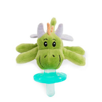 WubbaNub Plush Pacifier - Fairytale Green Dragon_thumb1