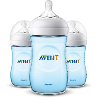 Philips Avent Natural Baby Bottle - 9oz (3 Pack) Blue_thumb1