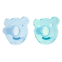 Philips Avent Soothie Bear Pacifier - 3+ months (2 Pack) Green/Blue_thumb1