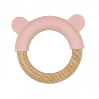 Saro Nature Ring Teether - Pink_thumb1