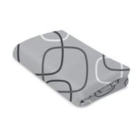 4moms Breeze Waterproof Playard Sheet - Silver/White_thumb1