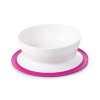 OXO Tot Stick & Stay Bowl - Pink_thumb1