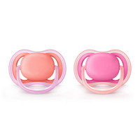 Philips Avent Air Pacifier - (6-18 Months) - Pink/Peach_thumb1