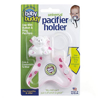 Baby Buddy Universal Pacifier Holder - Dots - Pinky_thumb1