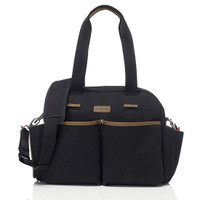 Babymel Jesse Diaper Bag - Black_thumb1