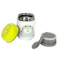 BBLuv Food Thermal Food Container with Spoon 10oz - Lime_thumb1