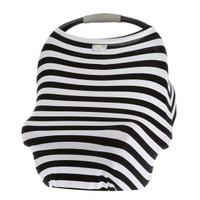 Itzy Ritzy Mom Boss 4-in-1 Nursing Cover - Black/White Stripe_thumb1