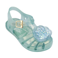 Mini Melissa Mini Aranha XII Seashell Sandals - Green_thumb1