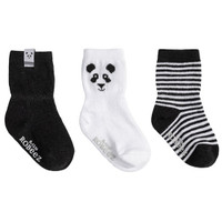 Robeez Piper Panda Socks - 3 Pack_thumb1