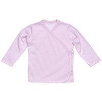 Under The Nile L/S Side Snap T-Shirt - Pink_thumb1