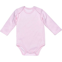 Under the Nile L/S Lap Shoulder Babybody - Pink_thumb1