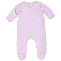 Under The Nile Organic Cotton Footie - Pink_thumb1