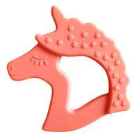 Little Teether Unicorn - Coral_thumb1