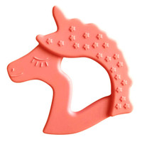 Little Teether Unicorn - Coral_thumb1