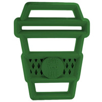 Itzy Ritzy Silicone Baby Teether - Latte Image