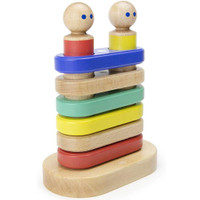 Tegu Magnetic Floating Stacker Building Block Set - Big Top Main
