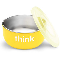 ThinkBaby High Rise BPA Free Baby Bowl - Yellow Main