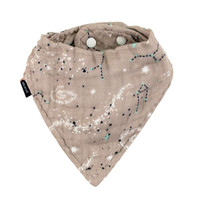 Bebe Au Lait Oh So Soft Luxury Muslin Bandana Bib - Galaxy Main
