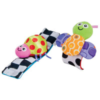 Lamaze Wrist Rattle Toy - Bug Colors
